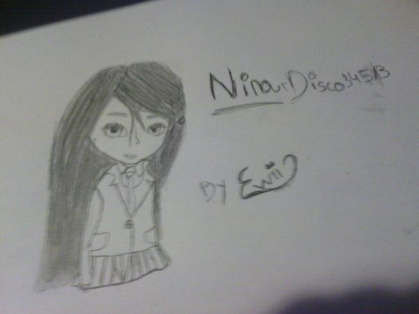 Dessin de Nina fait par ma Best !