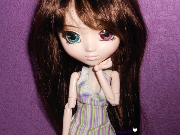 Marion et sa nouvelle wig !