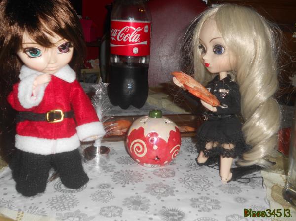 Le dîner du réveillon de noël ☆