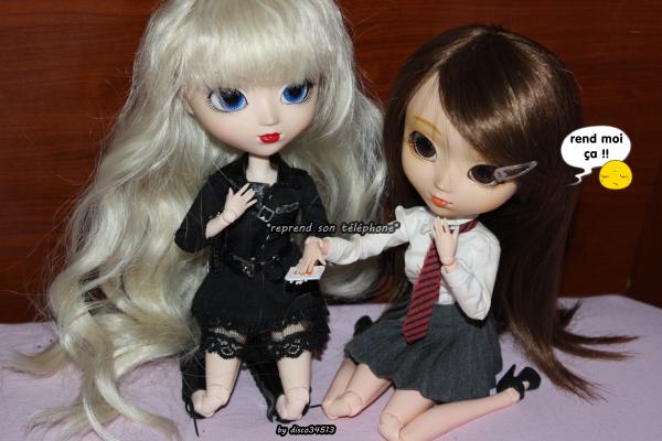 Story entre Mélissa, Nina et leurs amoureux >w<