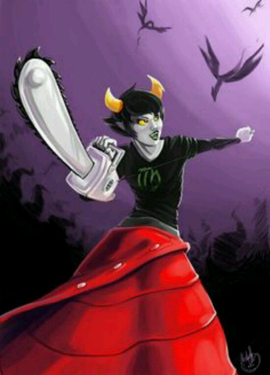 Presentation troll (descendant): Kanaya Maryam