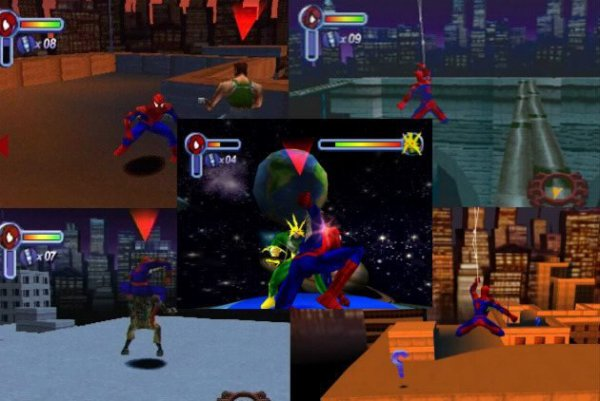 Spiderman 2 : La revanche d'Electro - 2001