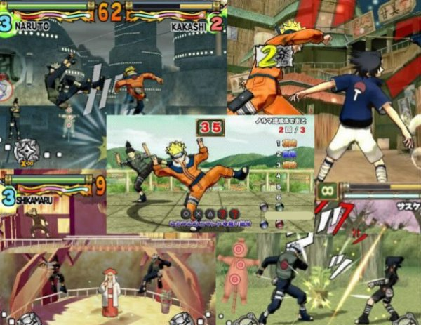 Naruto : Ultimate Ninja - 2006
