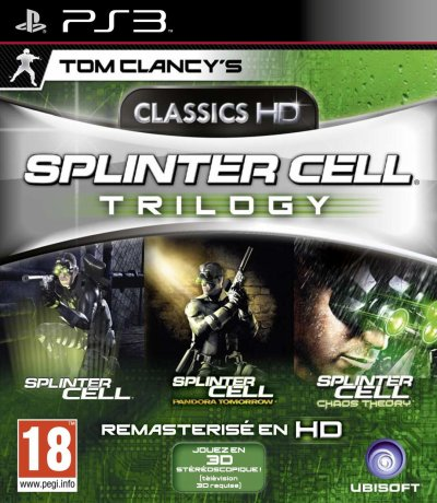 Splinter Cell Trilogy HD - 2011