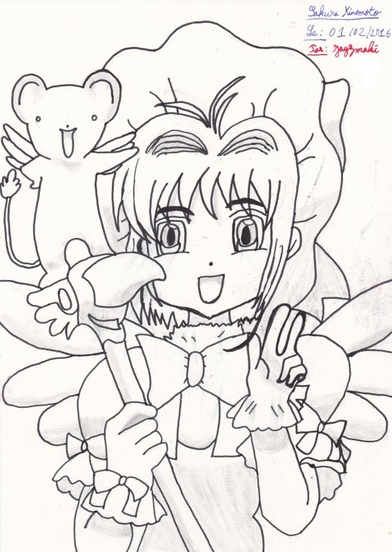 Anime / Manga : Card Captor Sakura