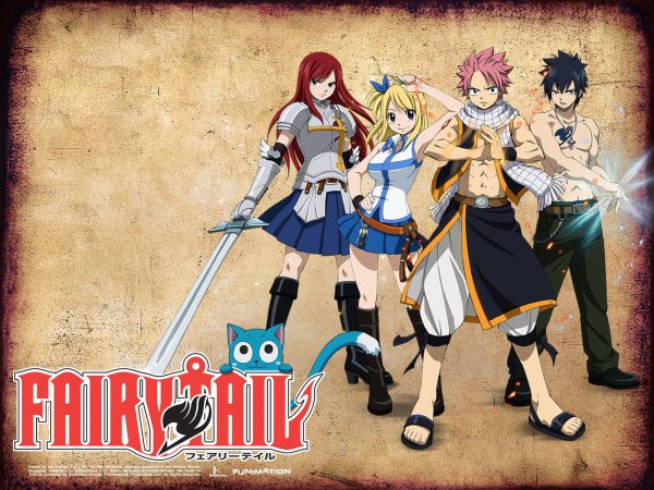 Anime / Manga : Fairy Tail