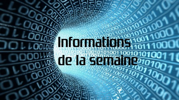 Informations de la semaine N°23