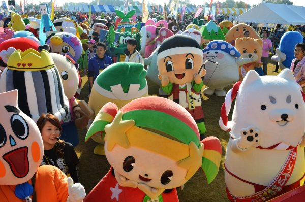 Culture Japon : Les mascottes