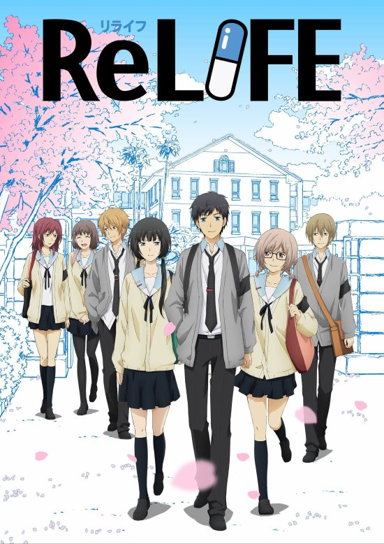 Anime / Manga : ReLife
