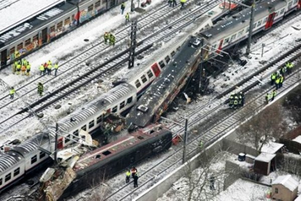 accident de train bizigun 4 ans deja