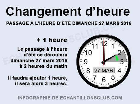 attention ont as changer d heure