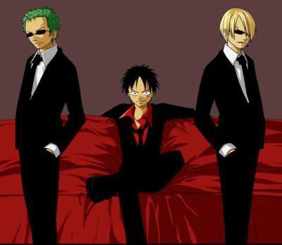 Luffy - Zorro - Sanji