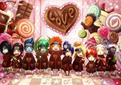 Akatsuki version Saint Valentin