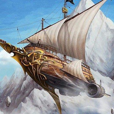 Futur bateau des pirates de l'Ange