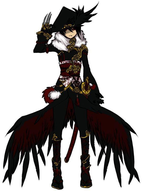 Les Pirates de l'Ange:Chapitre 23 Des larmes de douleur. Raven l'homme corbeau.