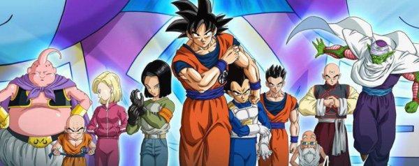 Dragon Ball Super:Equipe du tournoi