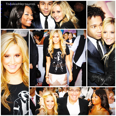 "Ashley attends Michael Jackson's ""This Is It"" Premiere.   27 oct 09. tisdaleashley-sources."