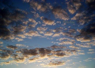 Comme si nous marchions sur les nuages.