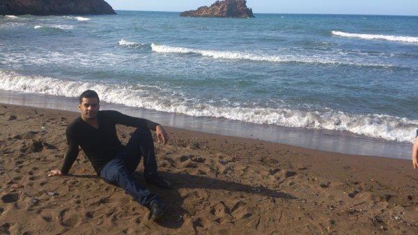 moi a la mer auj