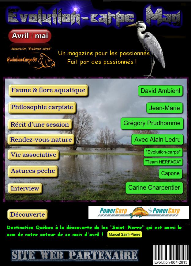 """Magazine Gratuit """"Evolution-carpe Mag"""""""
