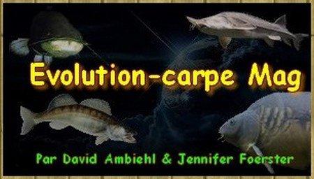 Nouveau logo du Magazine Evolution-carpe Mag