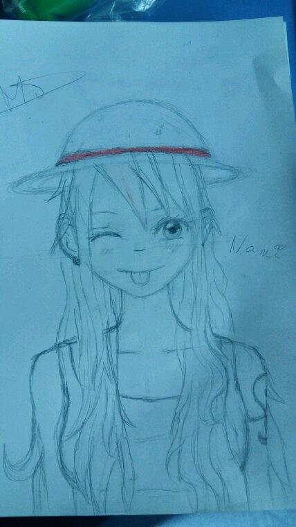 Mon dessin de Nami ^^