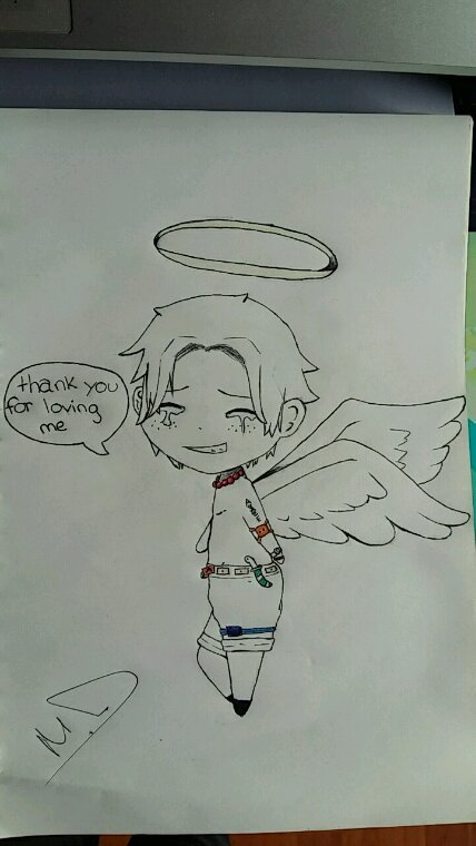 Ace-sama dessiner par moi-même :D