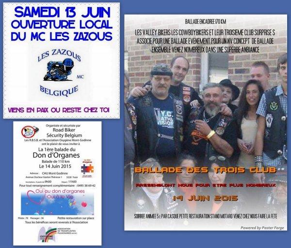 POUR LE WEEK END PROCHAIN...SANS NOUS...BOULOT SAMEDI ET DIMANCHE !!!