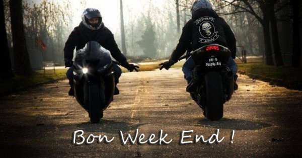 EXCELLENT WEEK END A TOUTES ET A TOUS !!!