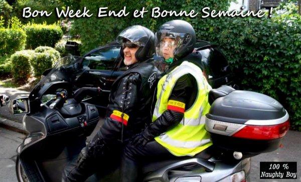 EXCELLENT WEEK END ET BONNE SEMAINE !