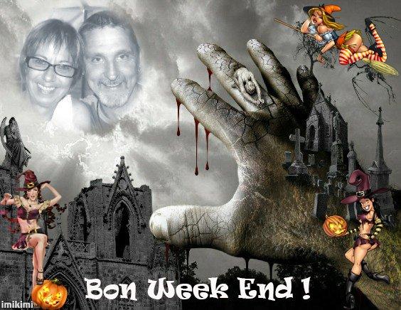 BON WEEK END ET BONNE FÊTE D'HALLOWEEN...