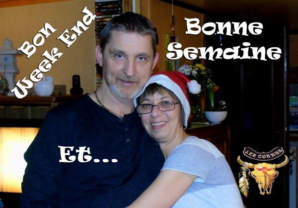 BON WEEK END ET BONNE DERNIERE SEMAINE 2015 !!! LES AMI(E)S...