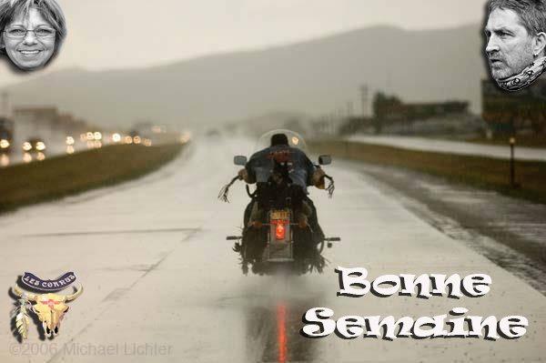 BONNE SEMAINE A TOUTES ET A TOUS !