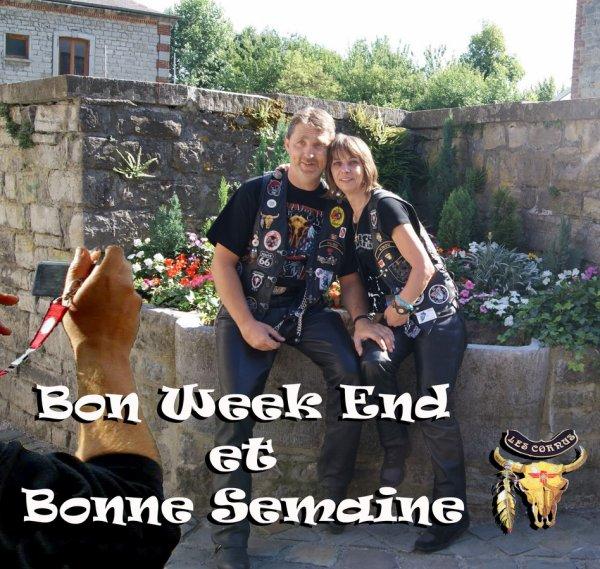 BON WEEK END ET BONNE SEMAINE LES AMI(E)S...