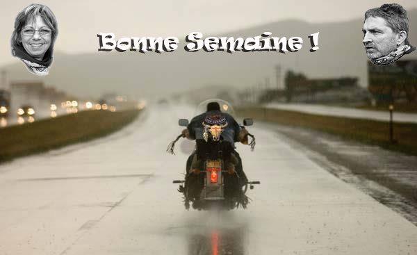BONNE SEMAINE !!!
