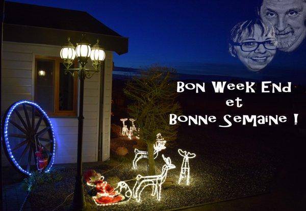 BON WEEK END ET BONNE SEMAINE A TOUTES ET A TOUS !!!