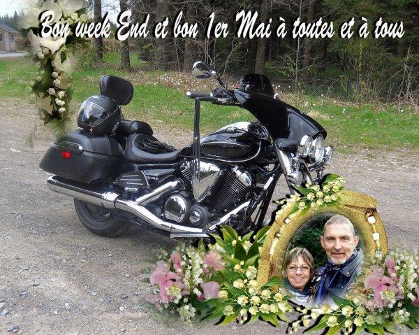 BON WEEK END ET BON 1er MAI A TOUTES ET A TOUS !!!