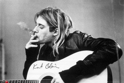 kurt cobain, du grunge, de l'emotion, vraiment un phénomène (hors métal )