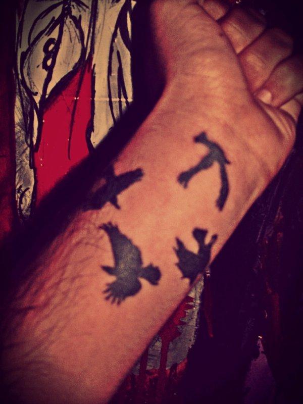 Mon nouveau tatouage :D