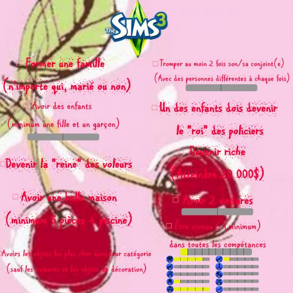 `*•I([ Sims 3 - épisode 6 ])I•*´