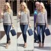 "30.04.12: Carrie arrivant au ""Late show with David Letterman"" à New-York"
