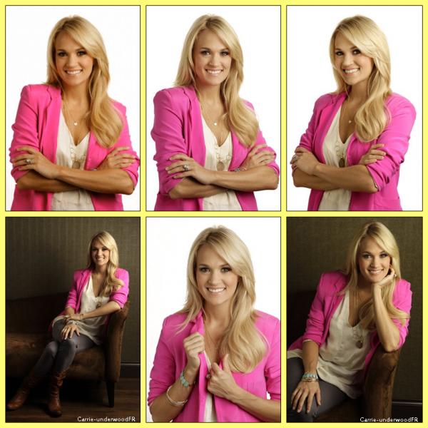 3.04.12: Carrie été sur le plateau d'American Idol pour chanter 'Blown away'.