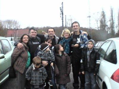 moi et ma petite famille que j adore