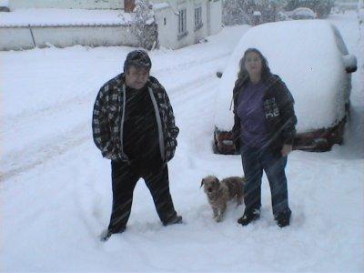 hé voila la suite de ma petite serie de photos dans la neige
