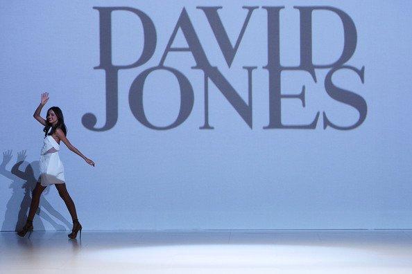 Miranda défile pour David Jones