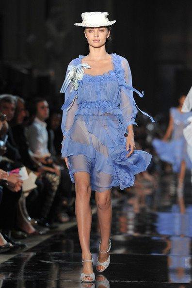Fashion Week de Paris: Miranda défile pour les plus grands !