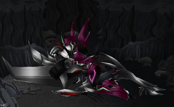 Starscream & Harmonie Prime