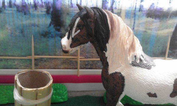 Les chevaux de trait et poulains