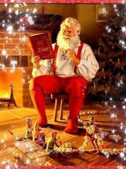 La magie de Noel, c'est voir les étoiles dans les yeux des enfants lors qu'ils ouvrent leurs cadeaux  *__*