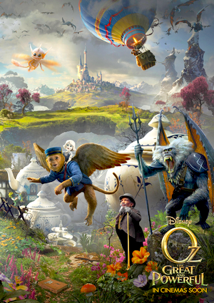 Film : Le monde fantastique d'Oz